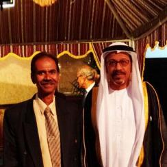 Our Director Mr. Hari Krishnan  With His Excellency Dr.Mohamed Omar Abdulla Balfaqeeh, UAE Ambassador to Singapore